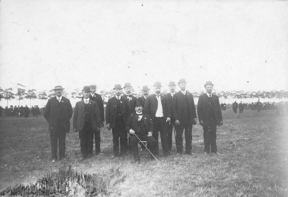 Concours Hippique 1909 Juryleden