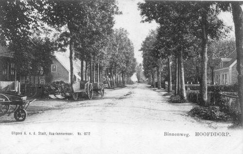 Concourslaan 1905 of eerder Binnenweg