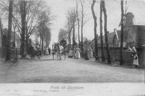 Concourslaan 1905 of eerder Paard en Wagen 01 Beschadigt