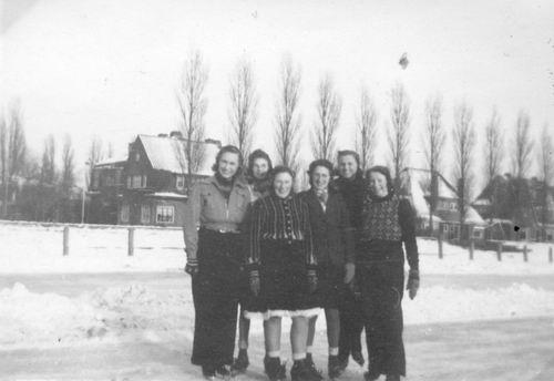 Concourslaan Z 0080+ IJsbaan 1947 01