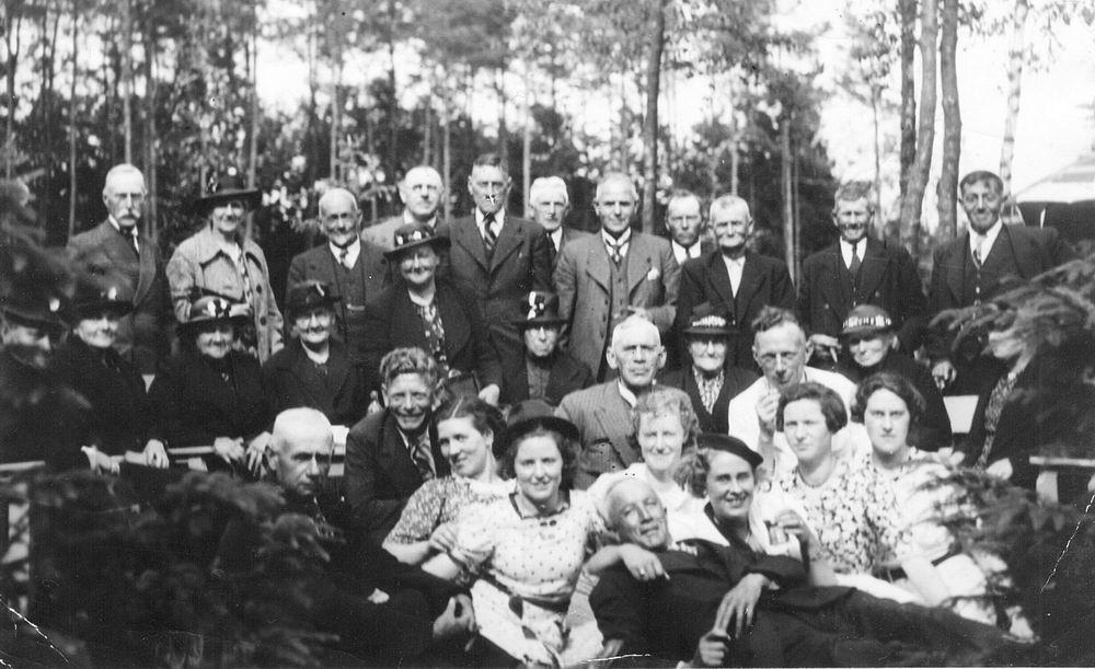 Cruquius Buurtvereniging 1939 Rijdag Ouden v Dagen