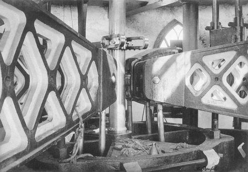 Cruquiusdijk 0027 1908 Stoomgemaal 02 Gewichtsbak Balans