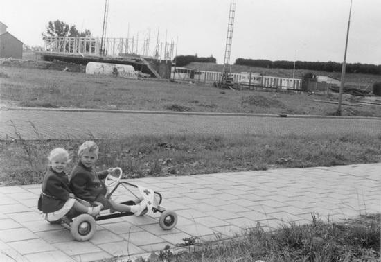 De Gelderstraat 1963 01 in Aanbouw