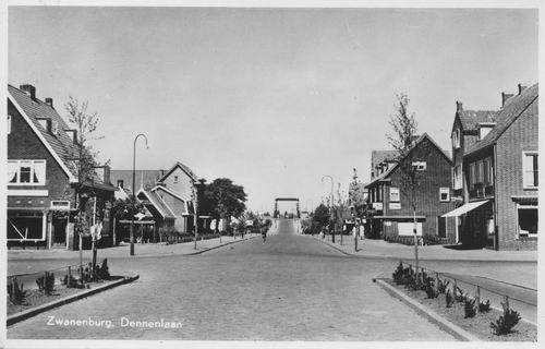 Dennenlaan W 0040± 1952 kruising Wilgenlaan