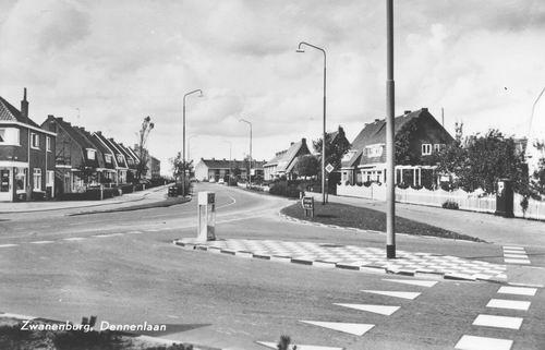 Dennenlaan 1965 vm Esdoornplein kruising IJweg