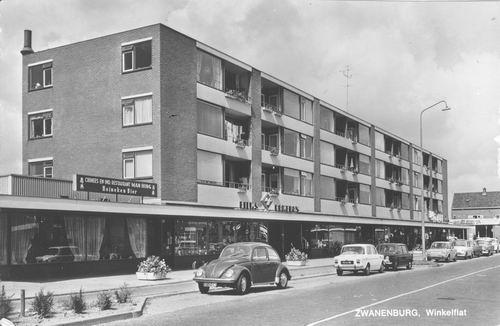 Dennenlaan W 012_ 1973 Winkelflats