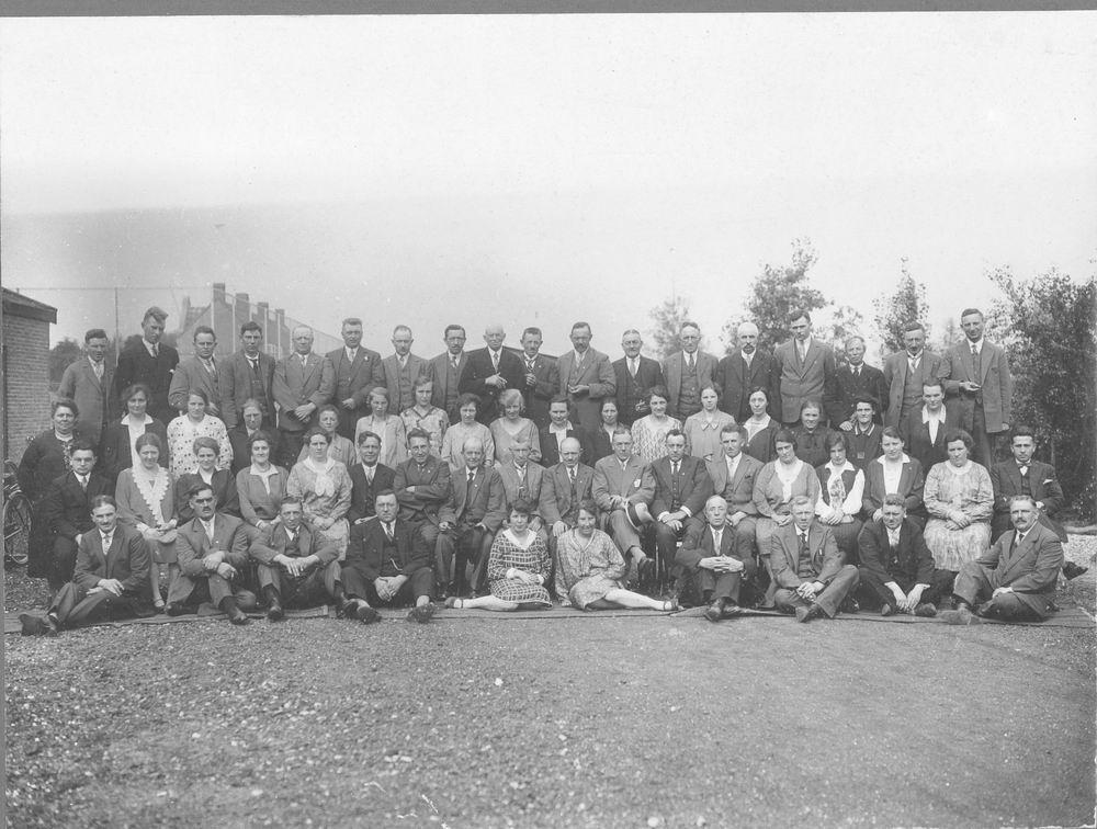 Door Eendracht Sterk DES 1929 Uitstapje NV de Lever Zeepmij
