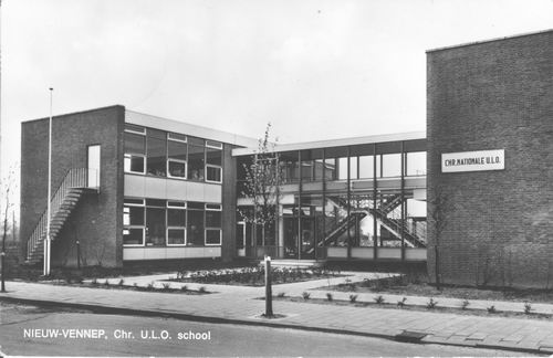 Dotterbloemstraat 1968 Christ Nationale ULO School