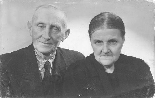 Elshout Arie 1880 19__ Portret met Vrouw Alida Kant