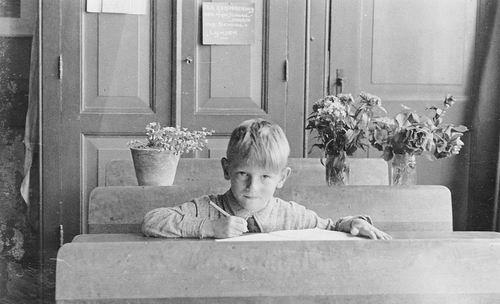 Es Gerrit v 1938 Schoolfoto op School 1