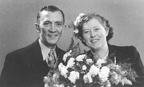 Floor Johannes 1948 trouwt Geertje A Wakker