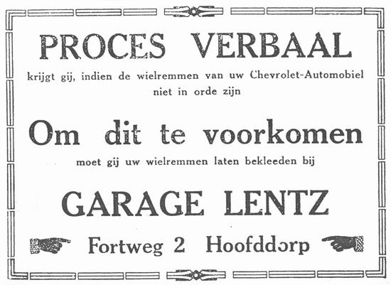 Fortweg 0002 19280414 Garage Lentz
