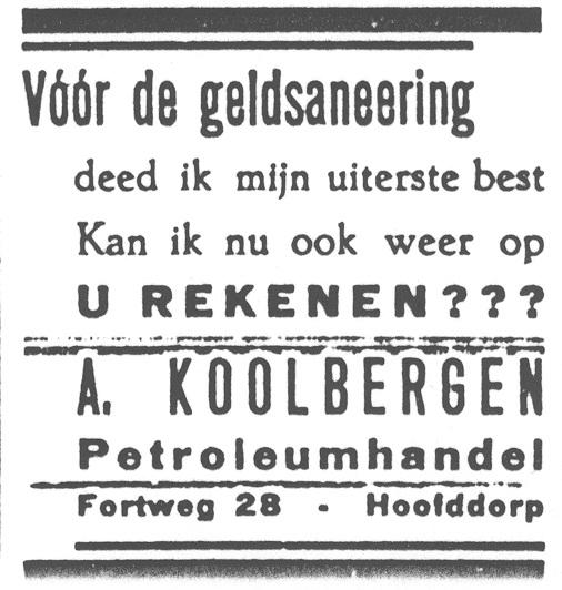 Fortweg 0028 1946 Advertentie na Geldsanering