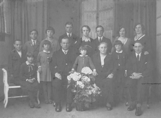 Fortweg 0028 Koolbergen Adrianus 1932 25 jaar getrouwt Re-exp