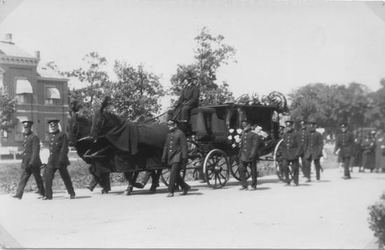 Fortweg 0031 Jansen Anthonius 1933 Postbode begrafenis