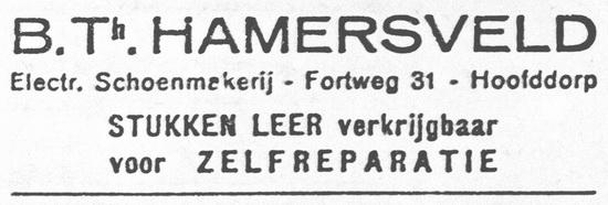 Fortweg 0033 1926 Schoenmaker B Th Hamersveld