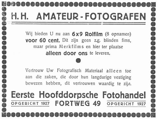 Fortweg 0049 1933 Fotohandel Schelvis