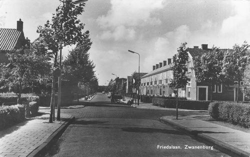 Friedalaan N 0031 1963 kruising Lindenlaan