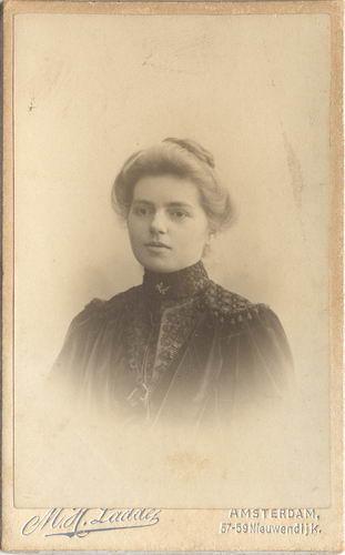 Geertsema Gepkea Geertruida 1889 19__ Portret