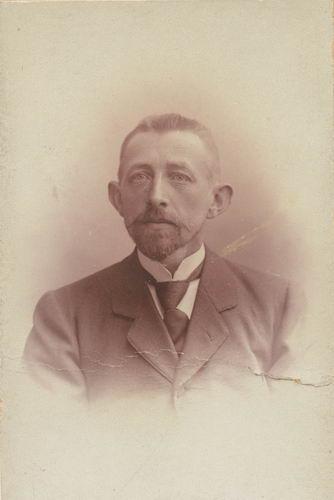 Geertzema Adolf Cornelis 1864 19__ Portret