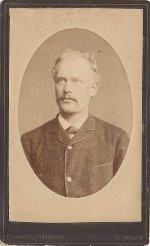 Geertzema Dolf 1860 19__ Portret 01