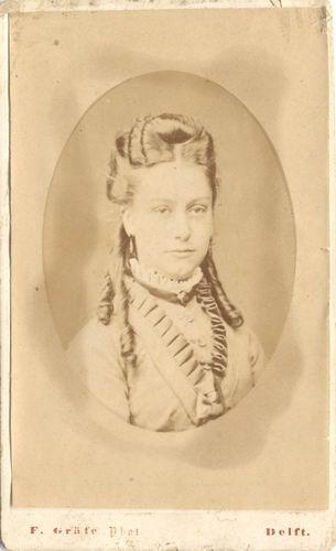 Geertzema-Dijkhuis Geertje 1872-73 19__ Portret