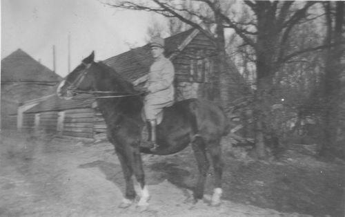 Geertzema Galtjo J J 1911 193_ Militair te Paard 02 bij de President
