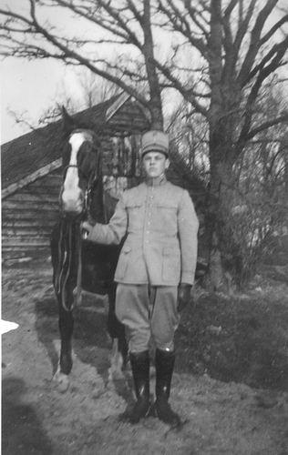 Geertzema Galtjo J J 1911 193_ Militair te Paard 04 bij de President