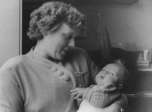 Geertsema Herman Gerrit Jan 1953 Baby met
