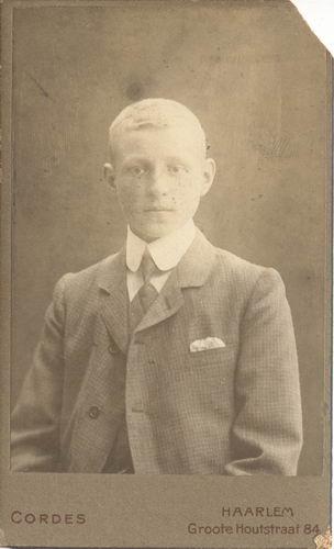 Geertsema Jan Galtjo 1892 19__ Portret bij Cordes in Haarlem