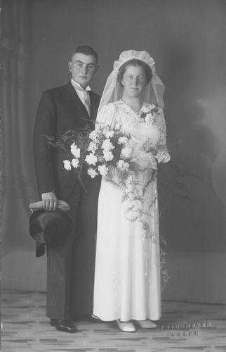 Geertsema Jan 1913 1938 trouwt Ank Berkhout