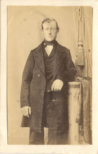 Melchior Gerardus Adrianus 1814 18__ bij Fotograaf Voet te Haarlem