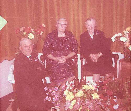 Gehrels Johannes C 1884 1964 50jr getrouwd met Allie vd Welle