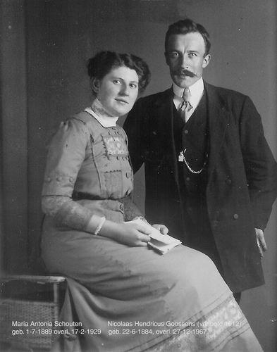 Goossens Nicolaas Hendricus 1912 en Maria Antonia Schouten 1912