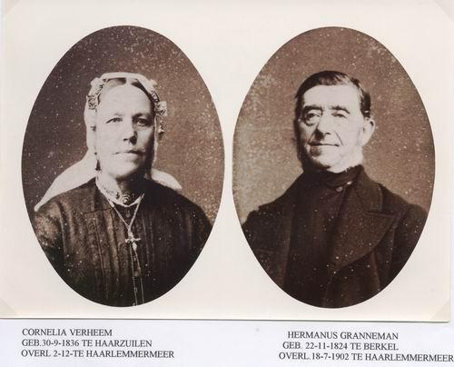 Granneman Hermanus 18__ met vrouw Cornelia Verheem