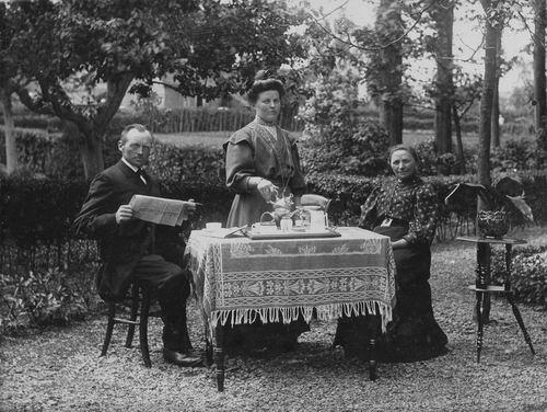 Grieken Johannes v 1865 1918- Gezinsfoto