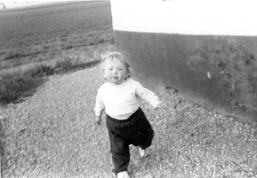 Groef Nel vd 1962 Dochter Els Witte als Peuter