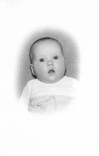 Groef Nel vd 1942 196_ Babyfoto dochter Els Witte