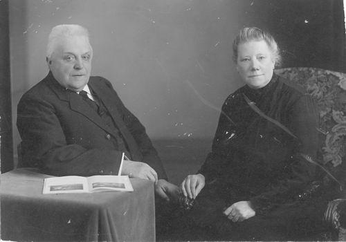 Groenenberg Adriaan 1863 19__ met vrouw Cornelia Schuurman