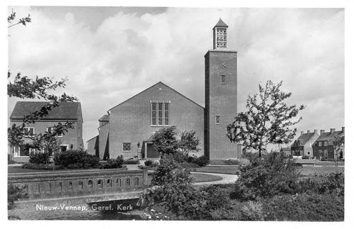 Haeringenplantsoen 0001 1955 Geref Kerk en Plantsoen