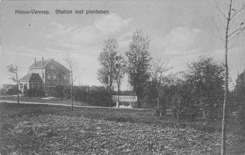 Haeringenplantsoen 1934 Station en Plantsoen