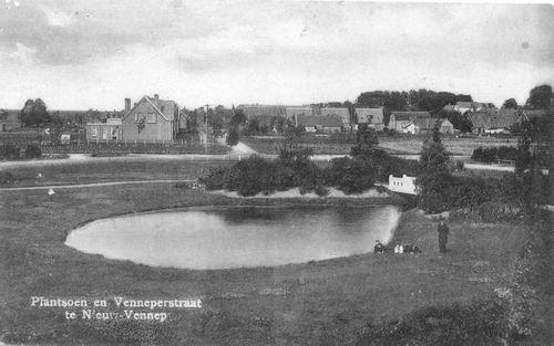 Haeringenplantsoen O 1925 met Venneperstraat