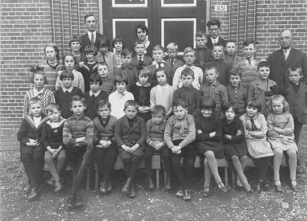 Hervormde School Nieuw Vennep 1929