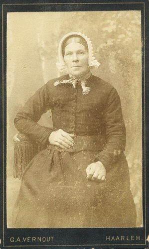 Heuvel Elisabeth Ldr vd 1842 18__ Gehuwd Abraham C N Stieva 01