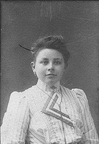 <b>ZOEKPLAATJE:</b>&nbsp;Zuiderent Huig B 1885-1917 Portret met Vrouw Grietje J Hijkoop 02