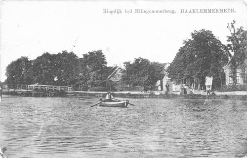 Hillegommerdijk 036_ 1915 bij Hillegommerbrug