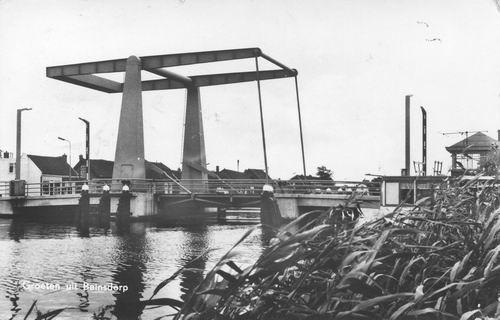 Hillegommerdijk 036_ 1965 Beinsdorp Ringvaartbrug