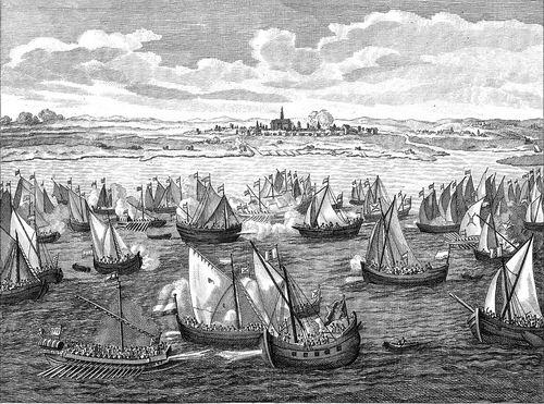 Hmeer 1573 Slag met Spanjaarden 05