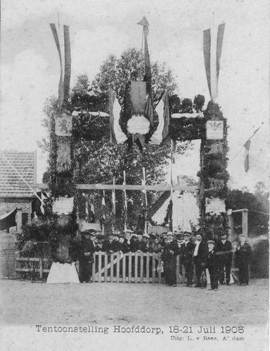 Hmeer 1905 50 jaar bestaan 01 Tentoonstelling