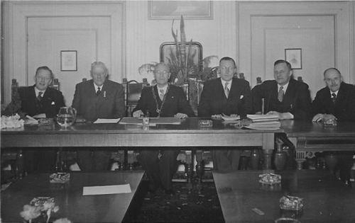Hmeer 1945-49 Gemeentebestuur